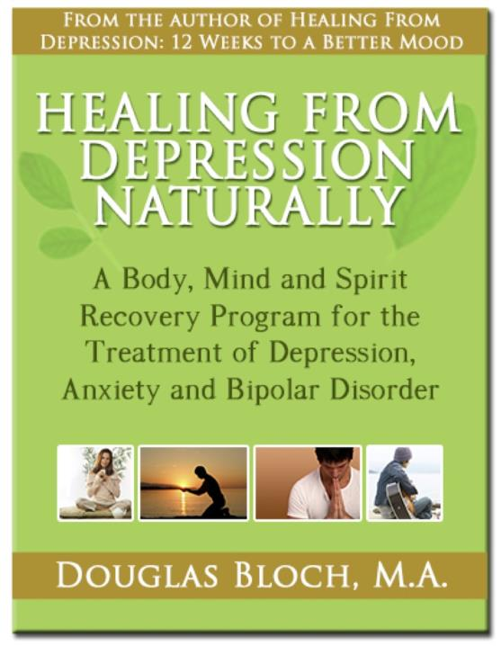 Healing From Depression Naturally By Douglas Bloch Bookshop