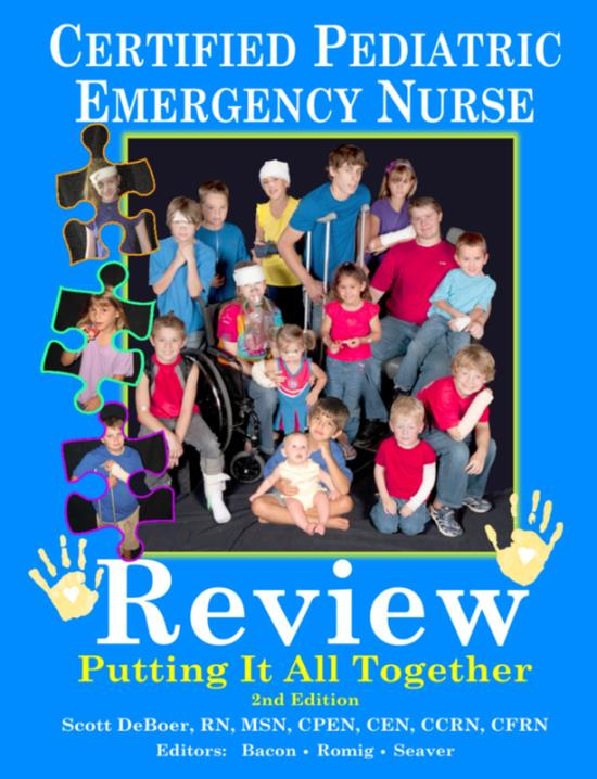 certified pediatric emergency nurse review putting it all together